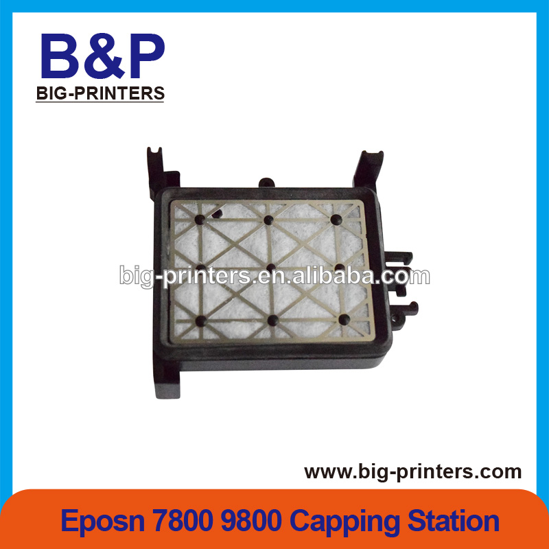 High Quality!inkjet Printer Spare parts Solvent Capping Station /dx5 cap top For Epson 7800 9800