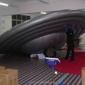 inflatable decorating helium balloon,attractive inflatable UFO/saucer model for decoration