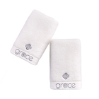 Wholesale embroidered cotton terry towels for hotel