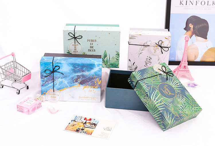 wholesale cardboard keepsake box for baby
