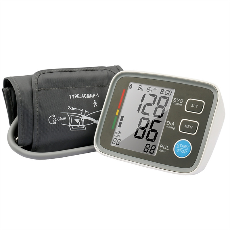 Manufacturer Fuzzy Logic Upper Arm Automatic Digital Blood Pressure Monitor with FDA Approval