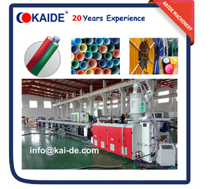 KAIDE HDPE silicon cored tube equipment