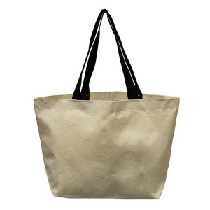 Custom eco-friendly reusable organic cotton tote shopping bag