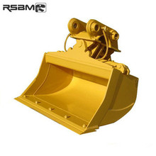 RSBM construction machinery parts 1800mm largura inclinação escavadeira balde