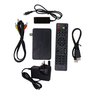 Newest Mini Freesat GX6605S HD dvb-s2 hd receiver dongle 1080p tv box dvb  S2 digicable set top box cheaper price