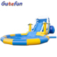 commercial grade cheap kids adult inflatable water park pool slides giant inflatable water slide for sale