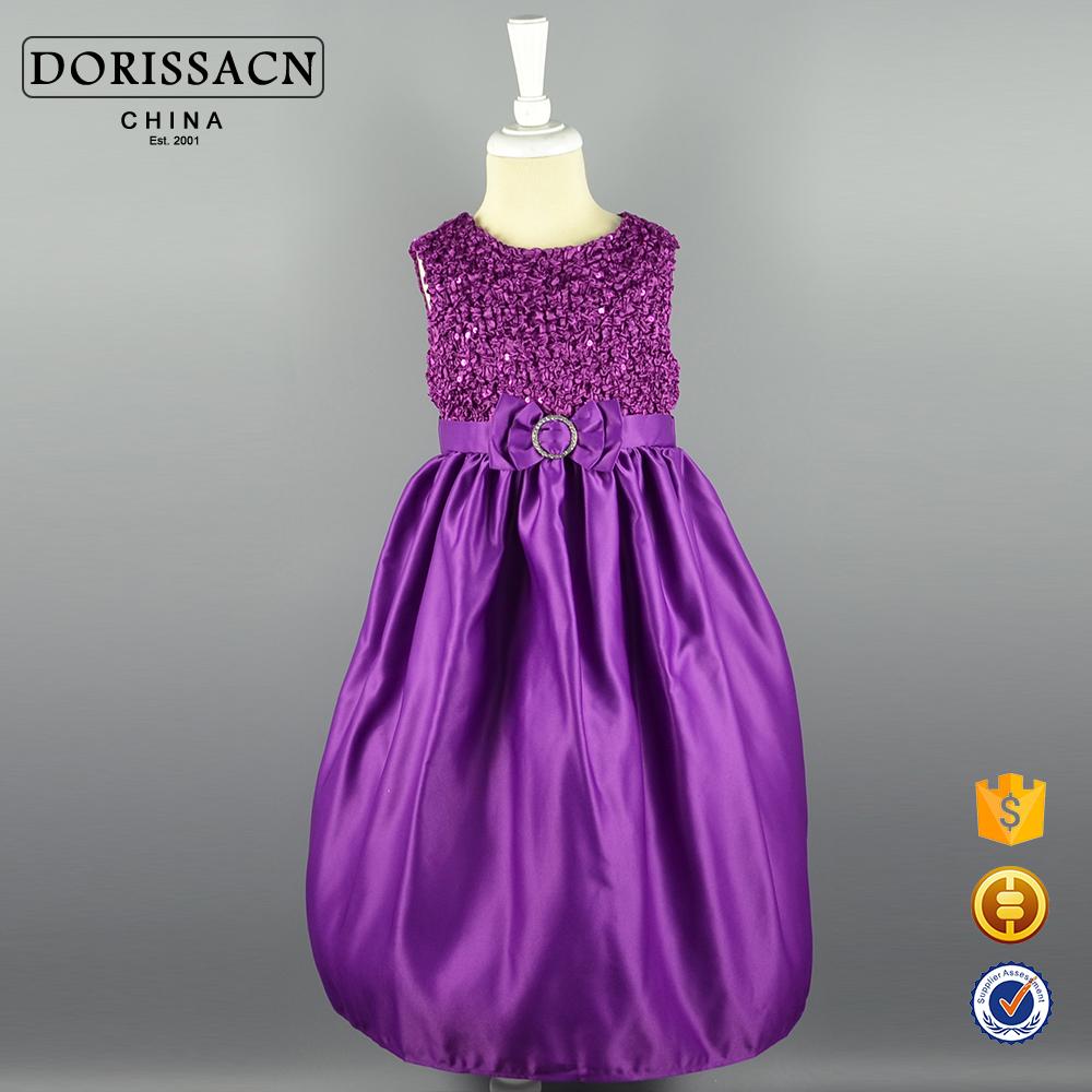 Niños hermosos vestidos modelo últimas desgaste del partido vestidos ...