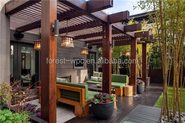 pergola limite de propriete. Black Bedroom Furniture Sets. Home Design Ideas