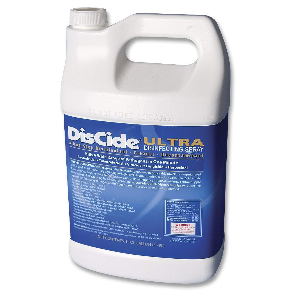 PT# -3565G PT# # 3565G- Disinfectant Solution Discide Ultra 1Gal Ea by, Palmero Sales Co Inc