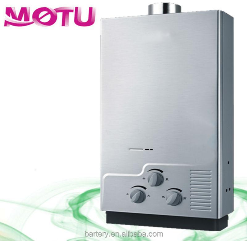 Gasheizung mit durchlauferhitzer