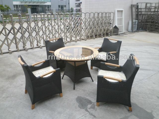Salon De Jardin Teck Chaise Et Table Pour Le Café En Tunisie - Buy ...