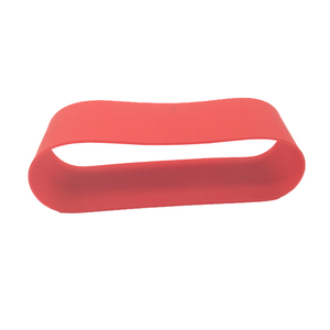 China supplier custom printed big red rubber band for agriculture