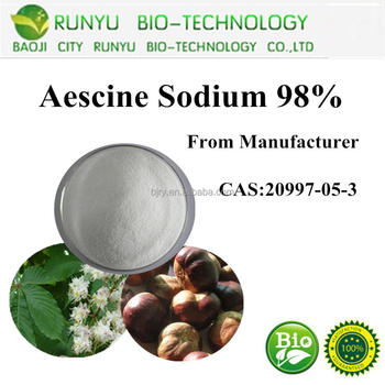 CAS No.6805-41-0 Factory outlet horse chestnut extract,aescin,escin powder 20%-98% HPLC,UV