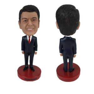 Custom Polyresin Famous USA President Reagan bobble head dolls for souvenir