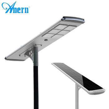 Powerful solar road safety light