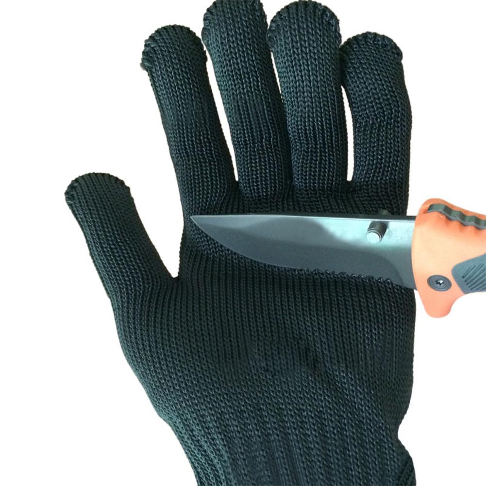 Compra guantes de carnicero de acero online al por mayor