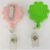 Eco-friendly retractable flower shape badge reels for kids
