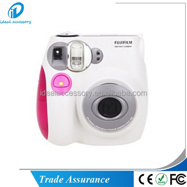 Fujifilm Instax Mini 7 s Immediata Film Camera Colore Rosa