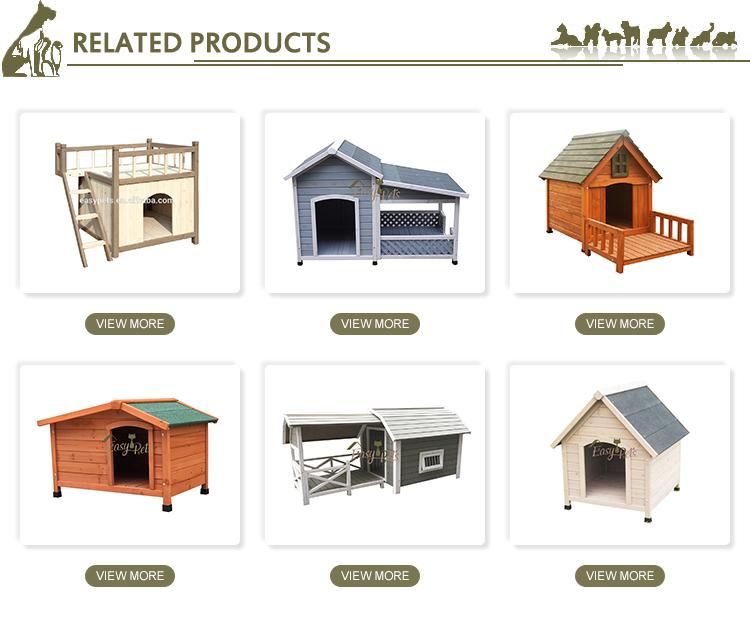 Garantía de Calidad de madera al aire libre Casa de perro de estilo