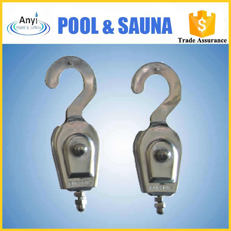 Cheap price stainless steel swimming pool lane line hook for sale