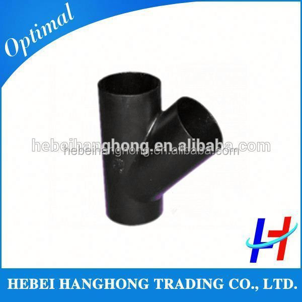 Trade Assurance Supplier a234 wpb carbon steel seamless pipe lateral tee dimension