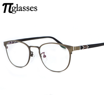 Fashion Fake Wire Framed Glasses Frames With Custom Logo Brand - Buy ...