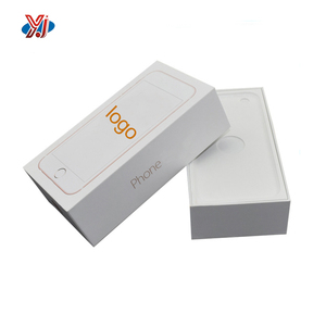 Iphone mobile paper cardboard packaging hard box