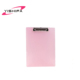 A4 size colorful folding clipboard display clip writing board