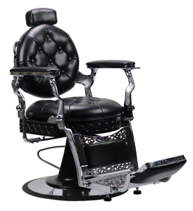 2019 new antique barber chair with button tufted for salon furniture barber shop for men