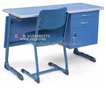 Ergonomische klaslokaal meubels houten tafel leraar bureau met