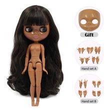 ICY Blyth кукла Обнаженная нормальное и общее тело с ручным набором AB и лицевой панелью в подарок Мода девушка 1/6 BJD кукла(Китай)