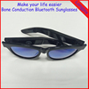 2017 Bone Conduction Bluetooth Sunglasses with Rechargeable Lithium Battery, Hands free Sunglasses Answer Call