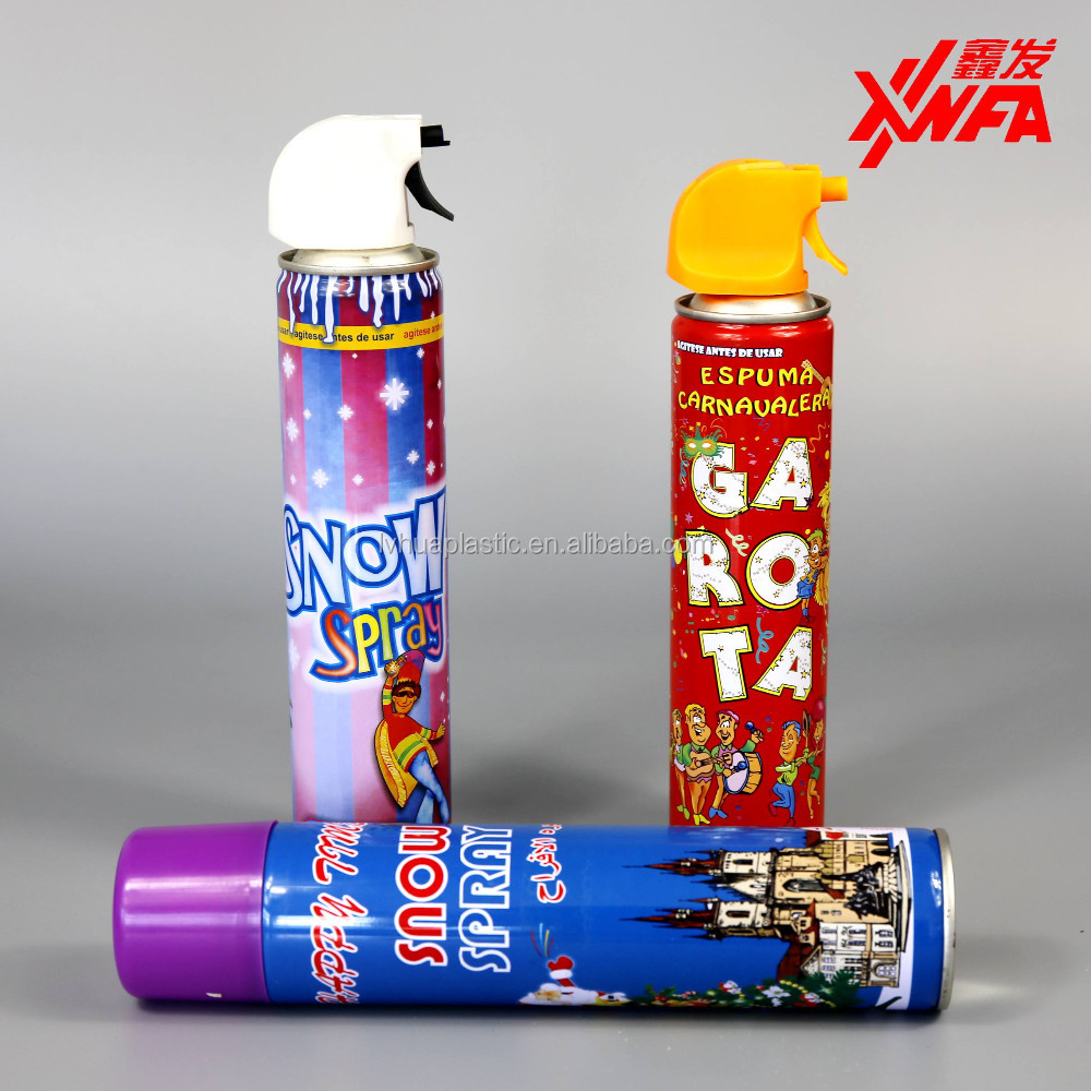 Wholesale foam party spray foam birthday party string spray in China OEM