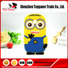 Despicable Me 2 Minion 3D Cartoon silicone phone case For Samsung Galaxy Core Plus G350 Case
