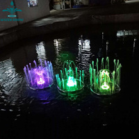 Small Home Garden Decorative Musical Led Fountain Display Indoor Water Feature Waterfall