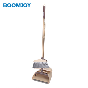 Dust Pan and Broom Dustpan Cleans Broom with Long Handle for Home Room Lobby Floor Use Upright Stand Up broom and dustpan set