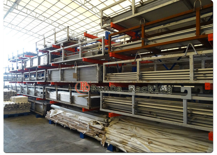 Erector Tube System Aluminum Profiles Steel Fifo Shelving