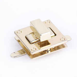Popular Bag Hardware Metal Alloy Ladies Leather Bag Lock Buckle