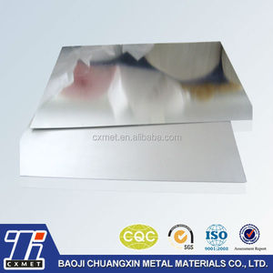 Low Modulus of Elasticity Titanium Clad Copper Sheet