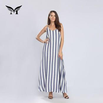 Yarn Dyed Funny Simple Long Rayon New Model Casual Dresses Buy New