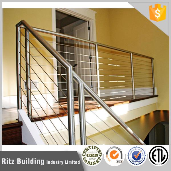 Pasamanos de hierro para escaleras trendy barandilla para - Escaleras al aire ...