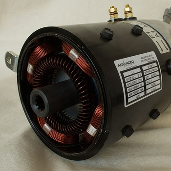 3.7KW KDS Electric Car Sepex DC Motor XP-2067-S 48V