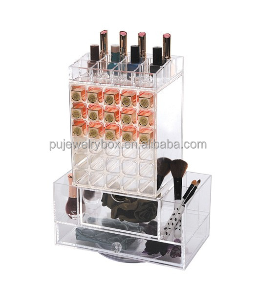 New packaging box jewelry box acrylic ring display stand crystal arcylic jewelry packaging box