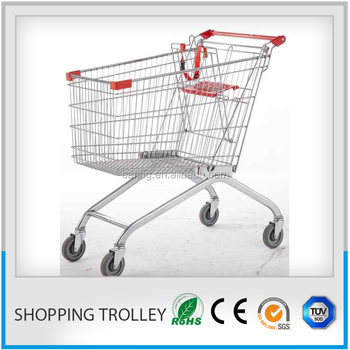 Pushing A Shopping Cart/history Of The Shopping Cart/grocery Carts ...