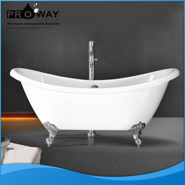 Mini Fashion Free Standing Acrylic Bathtubs Hydro Massage Bathtub, Free Standing mini whirlpool bathtub