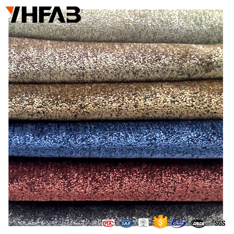 High quality polyester cotton viscose mixed fabric plain Chenille velvet fabric