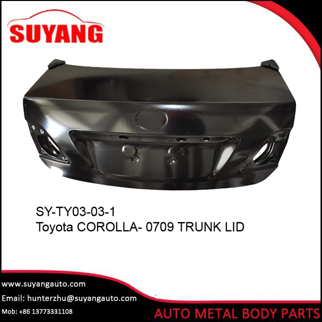 Replacement trunk lid For Toyota corolla-07 09 Auto Body Parts