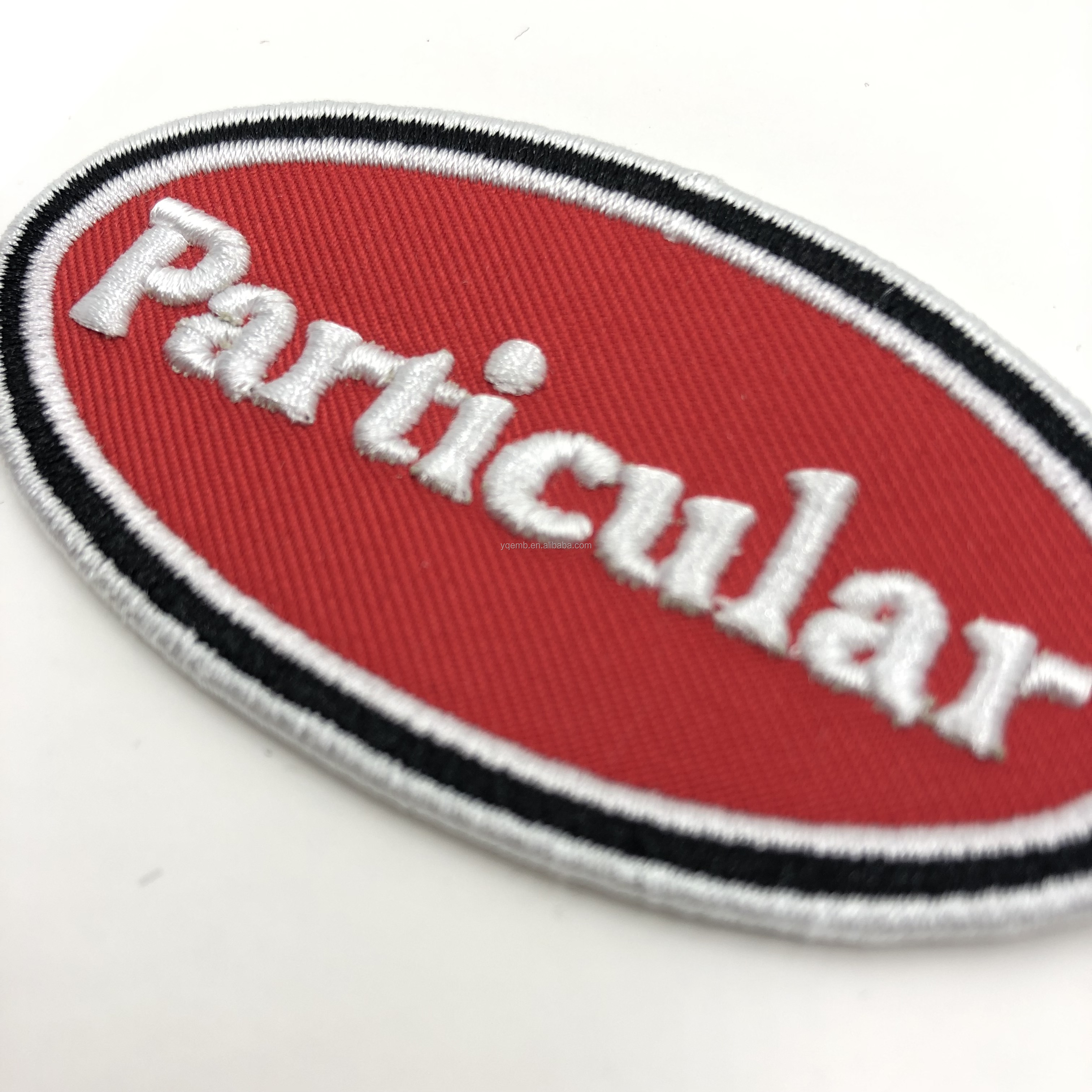 China Factory high quality Custom 3d puff embroidery patch