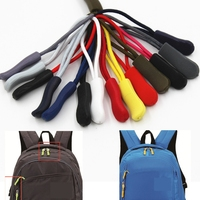 Zipper Sliders Pull Puller End Fit Rope Tag Fixer Zip Cord Tab Replacement Clip Buckle Travel Bag Suitcase Tent Backpack