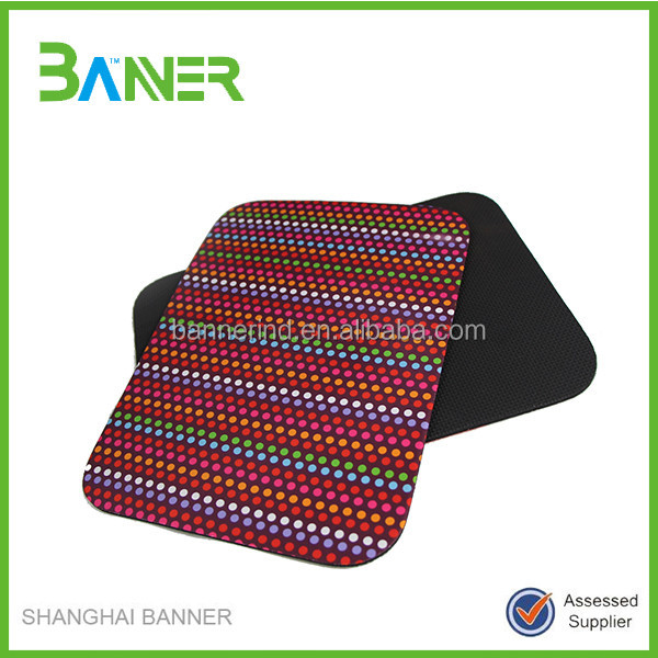 Lovely Colorful Neoprene promotion mouse pad manufacturer